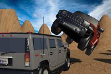 Safari Desert Racing 3D Stunt screenshot 2/4