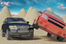 Safari Desert Racing 3D Stunt screenshot 3/4