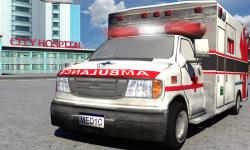Ambulance Driver 3d Parking screenshot 3/4