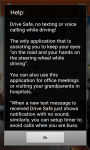 Drive Safe Android App screenshot 4/4