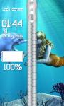 Mermaid Zipper Lock Screen screenshot 4/6