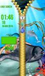 Mermaid Zipper Lock Screen screenshot 5/6