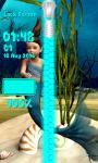 Mermaid Zipper Lock Screen screenshot 6/6