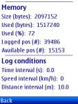 BT747 / BT_J2ME Midlet Suite screenshot 1/1