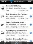 Wi-Fi Finder screenshot 1/1