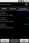aMule Remote screenshot 4/4