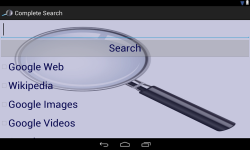 Complete Search screenshot 2/2