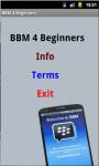 BBM For Beginners screenshot 2/4