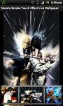 Naruto Sasuke Touch Live Wallpaper screenshot 1/4