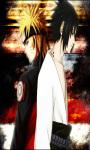 Naruto Sasuke Touch Live Wallpaper screenshot 3/4