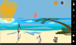 Penguin Madagascar On Beach screenshot 2/3