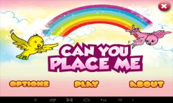 Can u Place Me screenshot 1/6