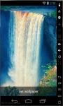 Magic Blue Waterfall Live Wallpaper screenshot 1/2