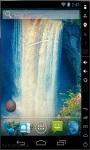 Magic Blue Waterfall Live Wallpaper screenshot 2/2