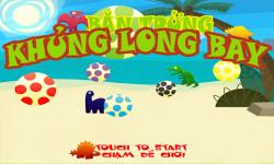 Shoot Flying Dinosaur Eggs War Fun Game for Kids screenshot 2/6