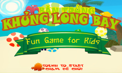 Shoot Flying Dinosaur Eggs War Fun Game for Kids screenshot 3/6
