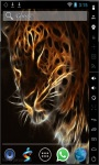 Ghost Tiger Live Wallpaper screenshot 2/2