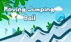 Moving Jumping Ball screenshot 1/4