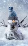 Christmas Snowman Live Wallpaper 2 screenshot 1/3