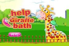 Help giraffe bathing screenshot 1/4