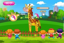 Help giraffe bathing screenshot 2/4