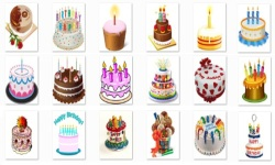 Birthday Cake Onet Classic Game screenshot 2/2