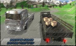 Cargo Truck Mountain Drive Sim screenshot 2/6