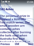 Cricket Terms screenshot 4/4
