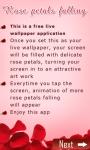 3d Leaf Falling Live WP screenshot 1/3