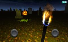 Halloween cemetery visit screenshot 1/4
