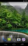 Waterfall Live Wallpaper 3D parallax screenshot 1/3