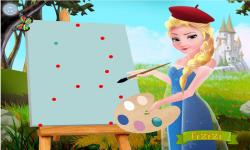 Elsa the Painter screenshot 2/4