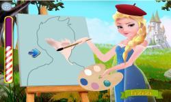 Elsa the Painter screenshot 3/4