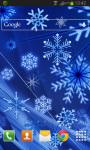 Snowflakes Live Wallpaper HD screenshot 2/2