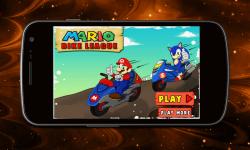 Mario Bike League screenshot 1/3