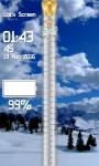 Snowfall Zipper Lock Screen screenshot 5/6