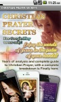Christian Prayer Secrets free screenshot 1/4