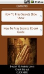 Christian Prayer Secrets free screenshot 2/4
