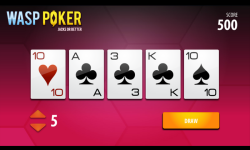 Wasp Poker screenshot 2/3
