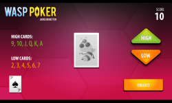 Wasp Poker screenshot 3/3
