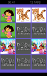 Dora the Explorer Super Memory Game screenshot 2/4