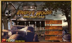 Free Hidden Object Games - Empty House screenshot 1/4