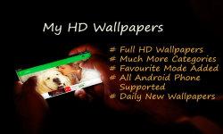 My HD Wallpapers Mobile App screenshot 1/6