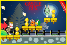 Castle run fun game screenshot 5/6