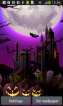 Halloween Live Wallpapers Free screenshot 5/6