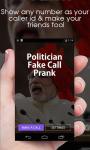 Politician Fake Call Prank screenshot 1/3