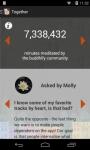 buddhify - mindfulness to go opened screenshot 5/6