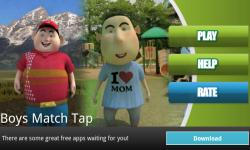 Boys Match Tap screenshot 1/3