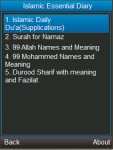 Islamic Daily Duas Surahs Durood and More screenshot 1/3