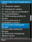 Islamic Daily Duas Surahs Durood and More screenshot 2/3